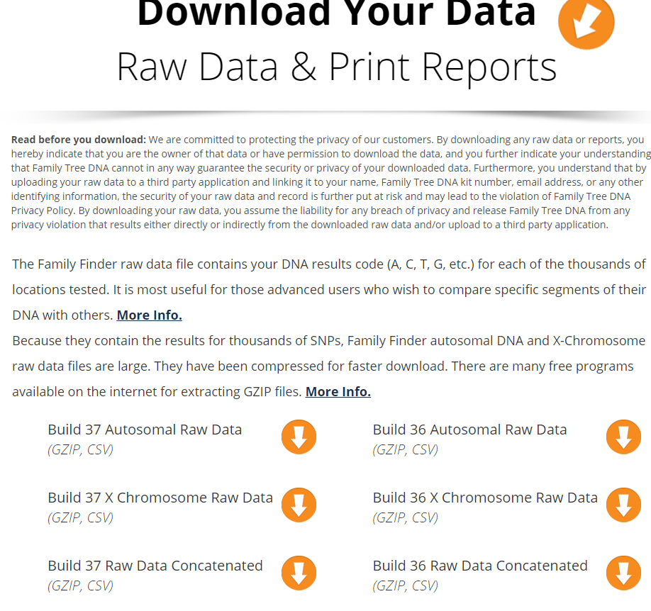 How to Upload FTDNA Raw Data Files to GEDmatch | Oak Grove